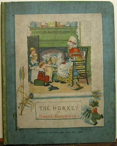Bloomfield Robert The Horkey. A ballad... with illustrations by George Cruikshank 1882 London