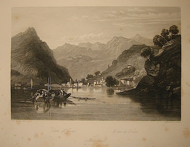 Fisher S. Lake of Como 1858 Parigi