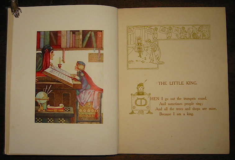 Githa Sowerby Childhood. Illustrated by Millicent Sowerby, written in verse by Githa Sowerby 1907 London Chatto and Windus publishers