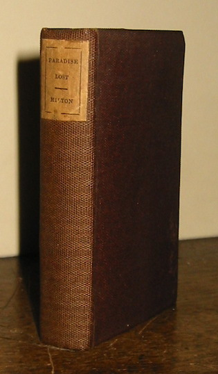 John Milton Paradise lost. A poem in twelve books 1835 London William Pickering