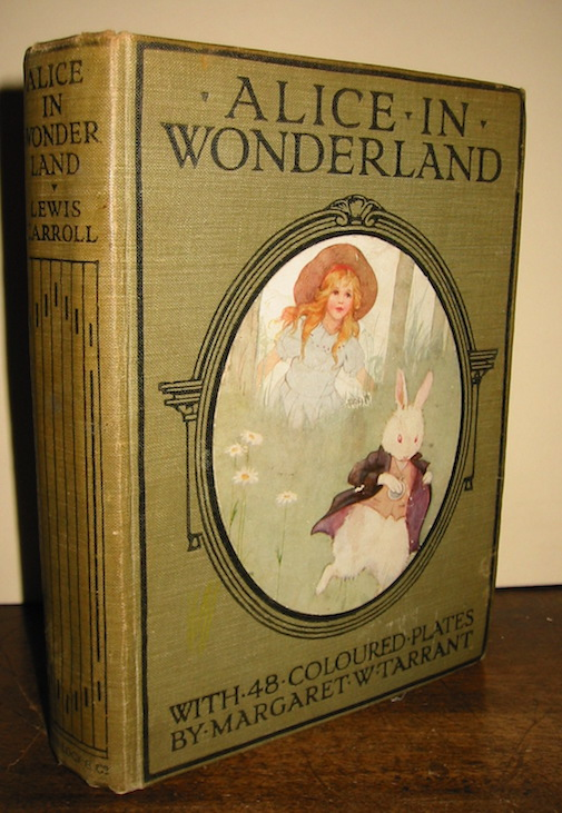 Lewis Carroll Alice's adventures in wonderland... with 48 coloured plates by Margaret W. Tarrant s.d. (1922) London, Melbourne and Toronto Ward, Lock & Co.