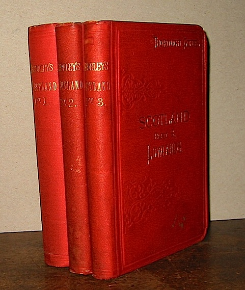 M.J.B. Baddeley Scotland. Part I (Part II e Part III) 1886-1890 London Dulau & Co.