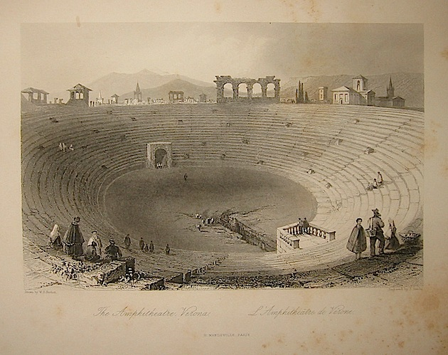 Sands J. The Amphitheatre, Verona 1858 Parigi