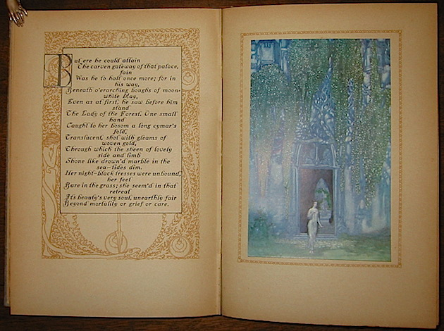 Wagner Richard Parsifal or the Legend of the Holy Grail retold from Antient Sources with acknowledgement to the Parsifal of Richard Wagner by T.W. Rolleston. Presented by Willy Pogany 1912 London