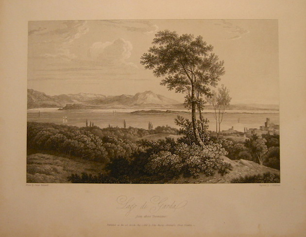 Middiman S. Lago di Garda from above Desenzano 1818 Londra