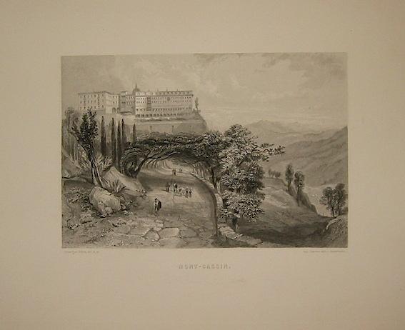 Rouargue (frères) Mont-Cassin 1860 ca. Parigi, Imp. Chardon