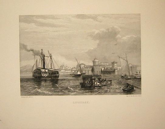 Rouargue (frères) Livourne 1860 ca. Parigi, Imp. Chardon
