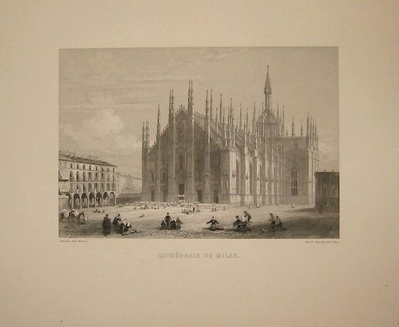 Rouargue (frères) Cathédrale de Milan 1860 ca. Parigi, Imp. Chardon