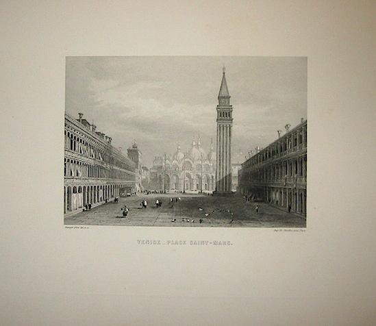 Rouargue (frères) Venise - Place Saint-Marc 1860 ca. Parigi, Imp. Chardon