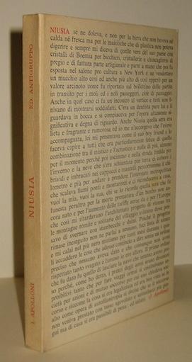 Ignazio Apolloni Niusia 1976 Palermo Edizioni Antigruppo
