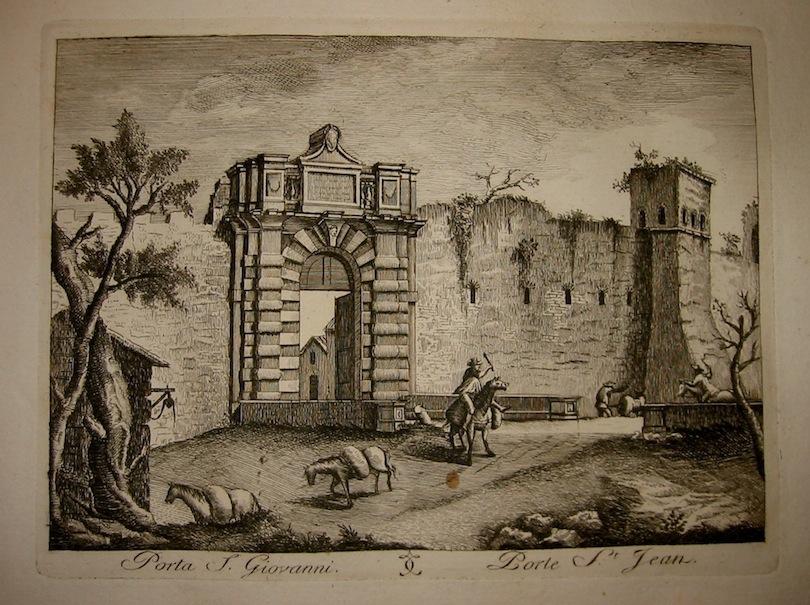 Calcografia Vasi Porta San Giovanni 1796 Roma