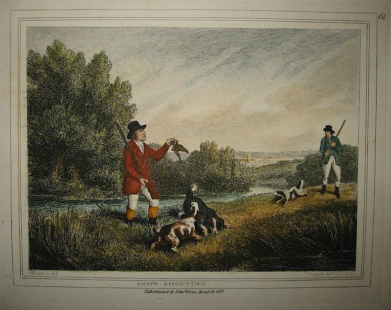 Howitt Samuel Snipe-shooting (Tiro al beccaccino) 1812 Londra