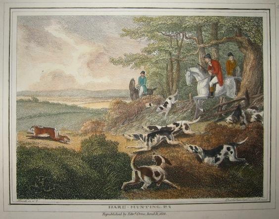 Howitt Samuel Hare-hunting (Caccia alla lepre) 1812 Londra