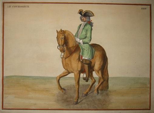 Anonimo Le Courageux 1730 Parigi