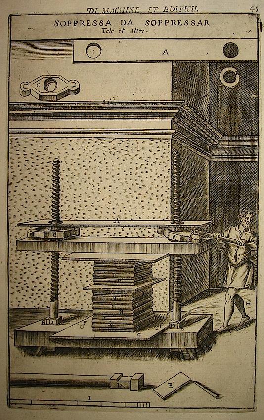 Zonca Vittorio Soppressa da soppressar Tele et altro 1656 Padova