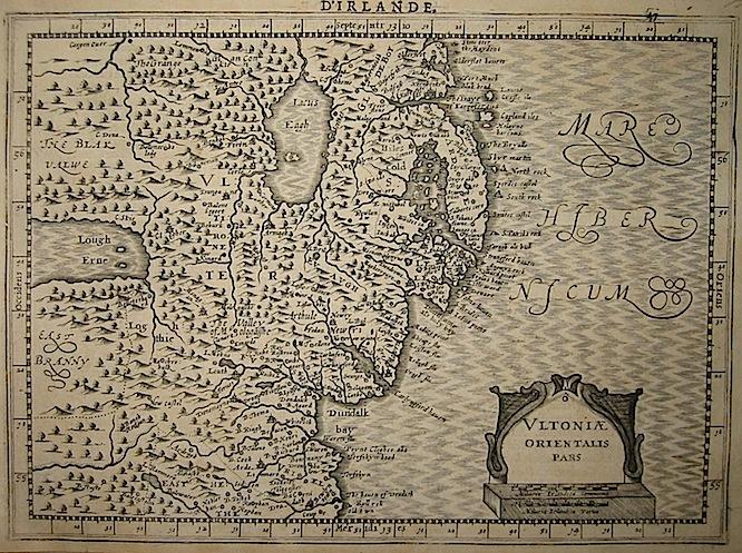 Mercator Gerard - Hondius Jodocus Ultoniae orientalis pars 1630 Amsterdam