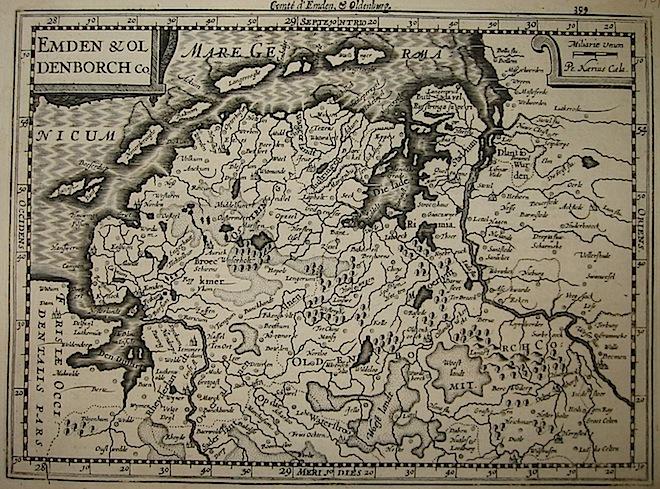 Mercator Gerard - Hondius Jodocus Emden & Oldenborch Co. 1630 Amsterdam