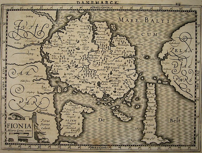 Mercator Gerard - Hondius Jodocus Fionia 1630 Amsterdam