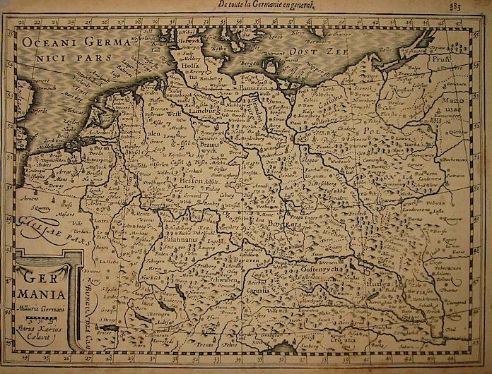 Mercator Gerard - Hondius Jodocus Germania 1630 Amsterdam