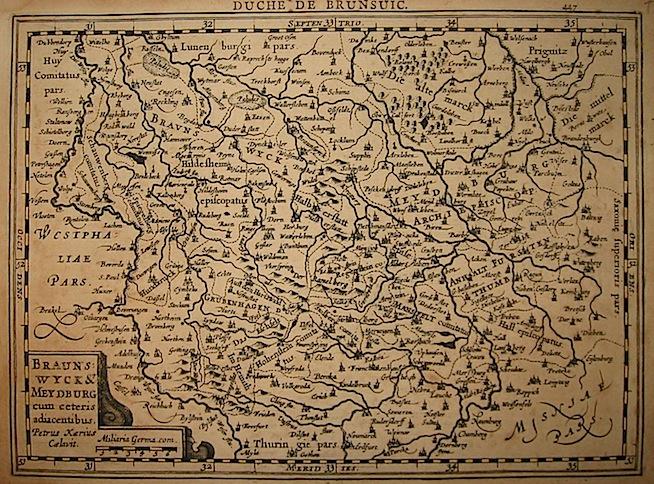 Mercator Gerard - Hondius Jodocus Braunswick & Meydburg... 1630 Amsterdam