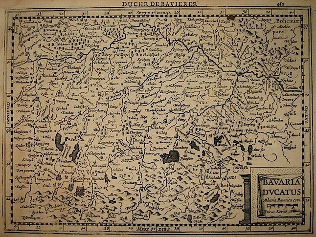 Mercator Gerard - Hondius Jodocus Bavaria Ducatus 1630 Amsterdam