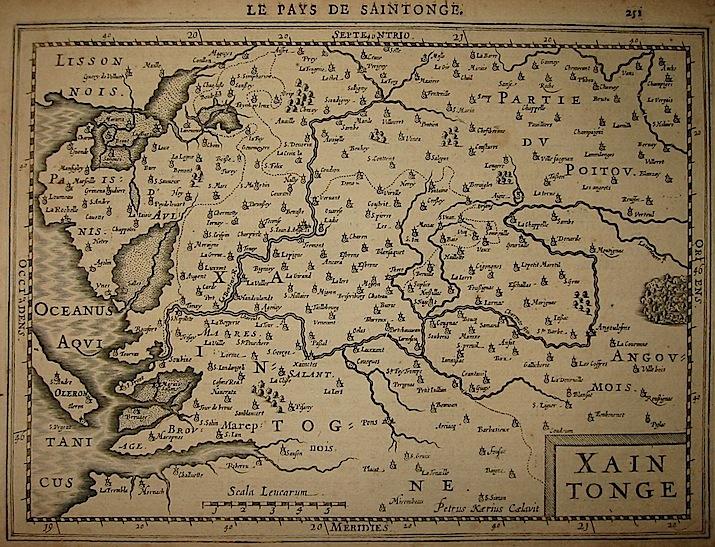 Mercator Gerard - Hondius Jodocus Xaintonge 1630 Amsterdam