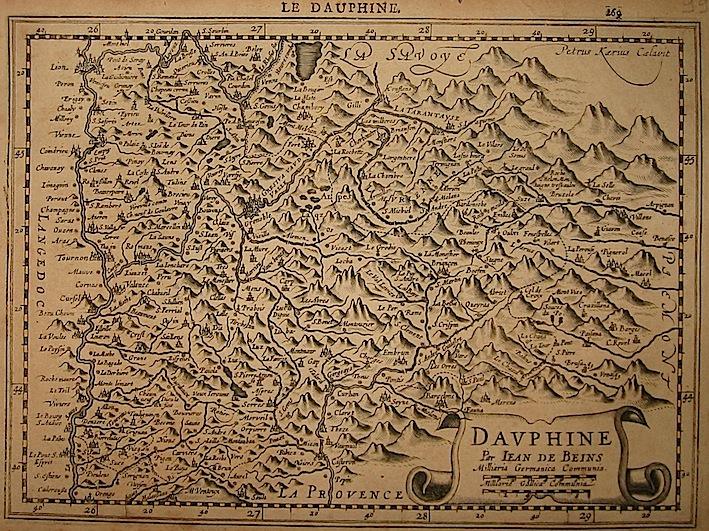 Mercator Gerard - Hondius Jodocus Dauphine 1630 Amsterdam