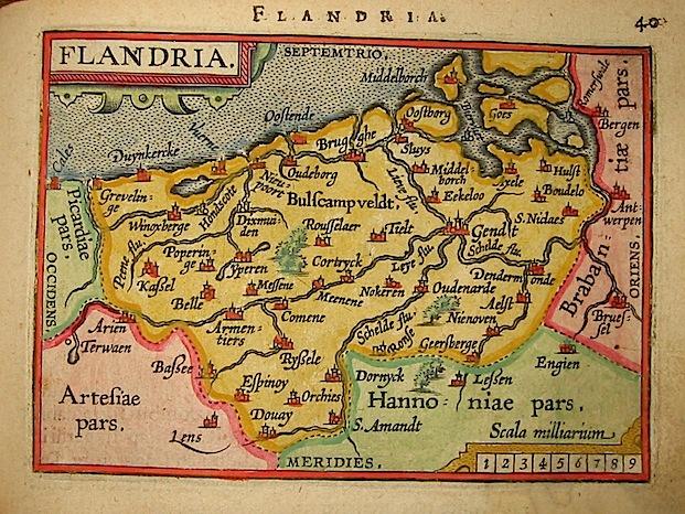 Ortelius Abraham (1528-1598) Flandria 1601 Anversa, apud Ioannem Bapt. Vrientum