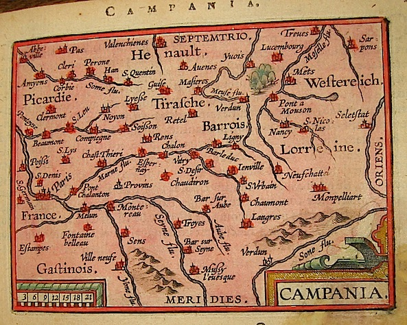 Ortelius Abraham (1528-1598) Campania 1601 Anversa, apud Ioannem Bapt. Vrientum