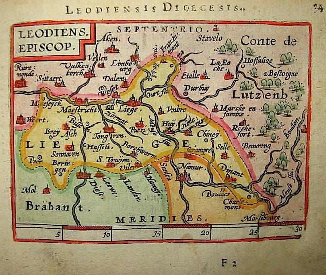Ortelius Abraham (1528-1598) Leodiensis Episcop. 1601 Anversa, apud Ioannem Bapt. Vrientum