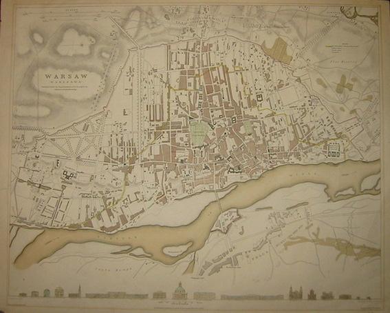 SDUK (Society for the Diffusion of Useful Knowledge) Warsaw (Warszawa) 1831 Londra