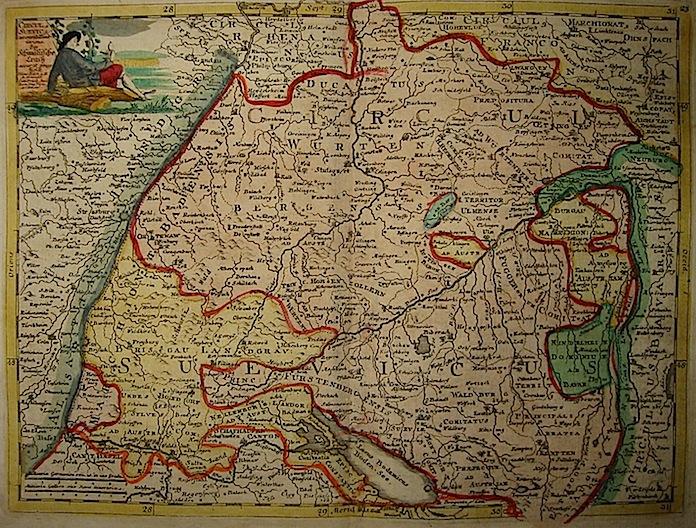 Baeck Elias (1679-1747) Circulus Suevicus 1748 Augsburg