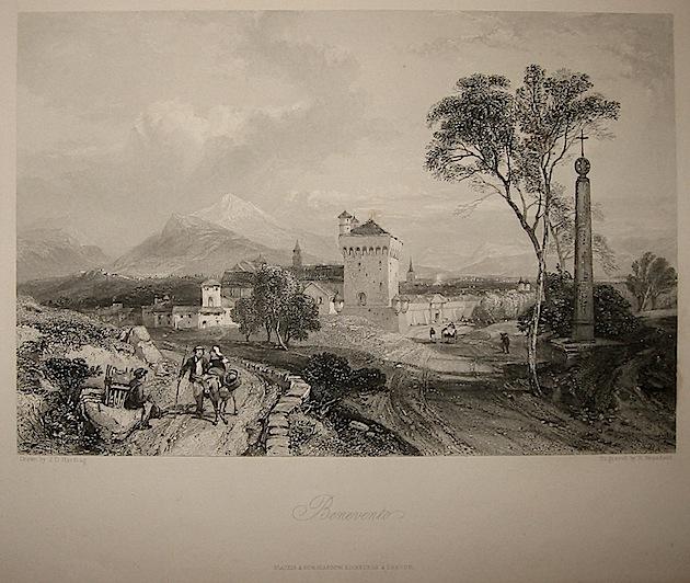 Brandard R. Benevento 1860 ca. Londra, Blackie & Son