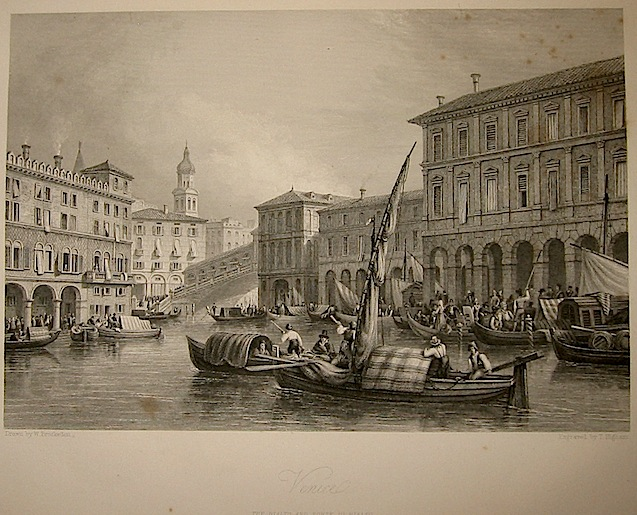Higham T. Venice, the Rialto and Ponte di Rialto 1860 ca. Londra, Blackie & Son