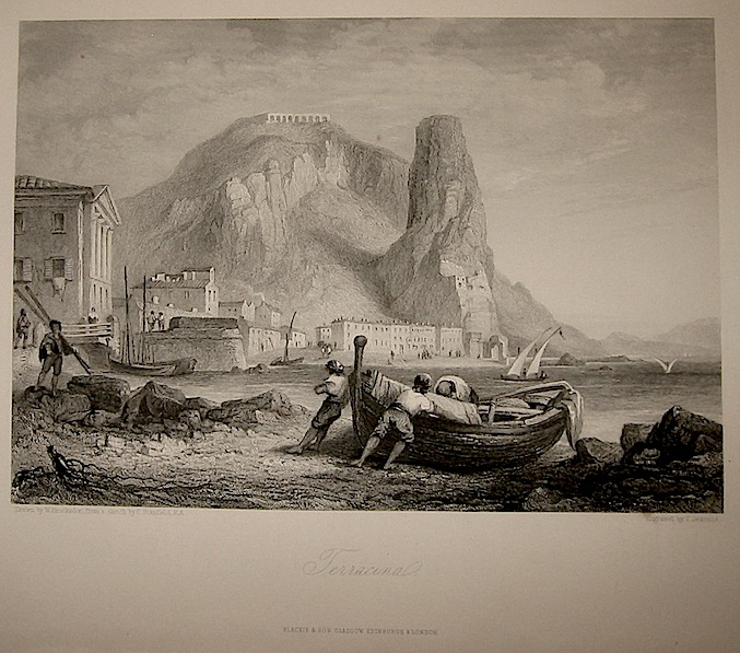 Jeavons T. Terracina 1860 ca. Londra, Blackie & Son