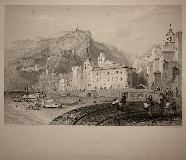 Willmore J.T. Amalfi 1860 ca. Londra, Blackie & Son