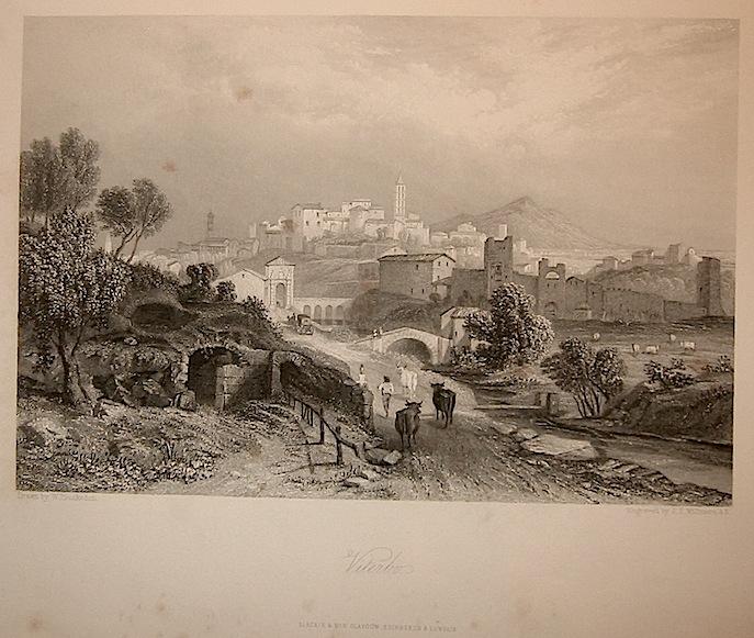 Willmore J.T. Viterbo 1860 ca. Londra, Blackie & Son