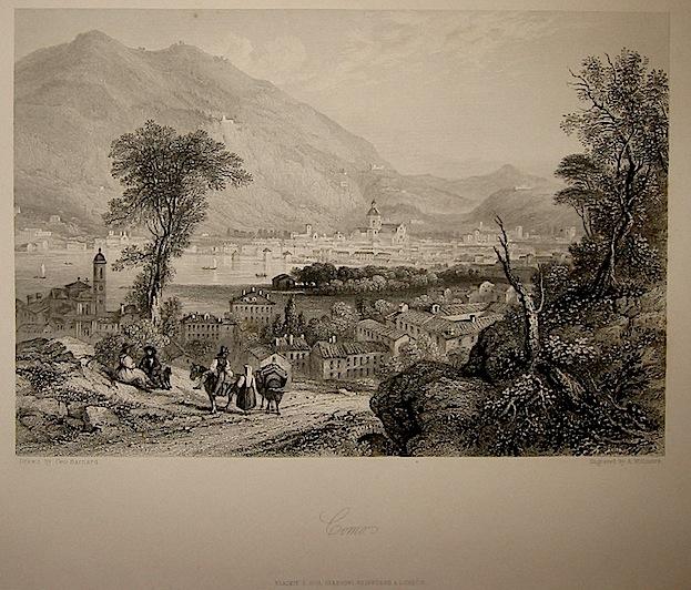 Willmore A. Como 1860 ca. Londra, Blackie & Son