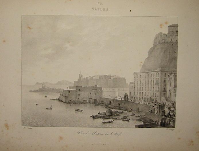 Jean-Baptiste Isabey Voyage en Italie par J. Isabey en 1822. Trente dessins, lithographiés par lui s.d. (1823) Paris chez l'Auteur, Imprimerie de Hocquet