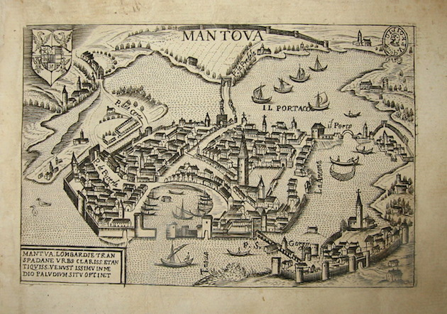 Bertelli Pietro (1571-1621) Mantova 1629 Padova