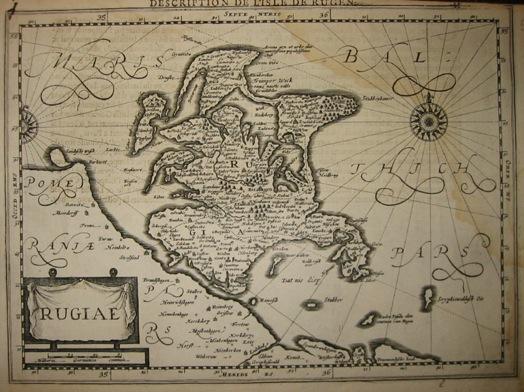 Mercator Gerard - Hondius Jodocus Rugiae 1630 Amsterdam