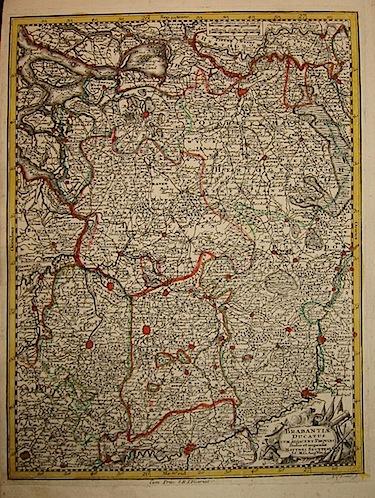 Seutter Matthaeus (1678-1757) Brabantiae Ducatus s.d. (ma 1744) Augsburg, presso C.Lotter
