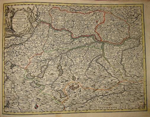 Seutter Matthaeus (1678-1757) Archiducat. Austriae superioris... s.d. (ma 1744) Augsburg, presso C.Lotter