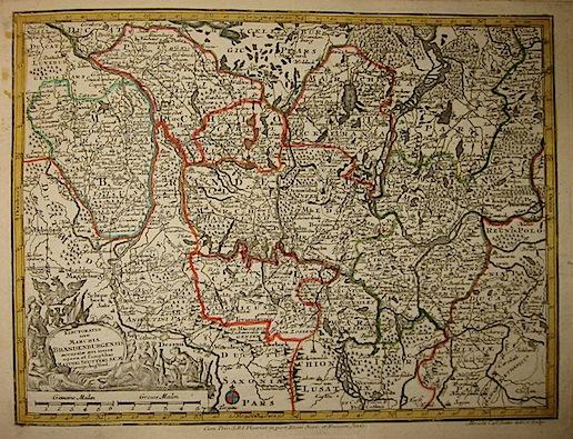Seutter Matthaeus (1678-1757) Electoratus sive Marchia Brandenburgensis... s.d. (ma 1744) Augsburg, presso C.Lotter