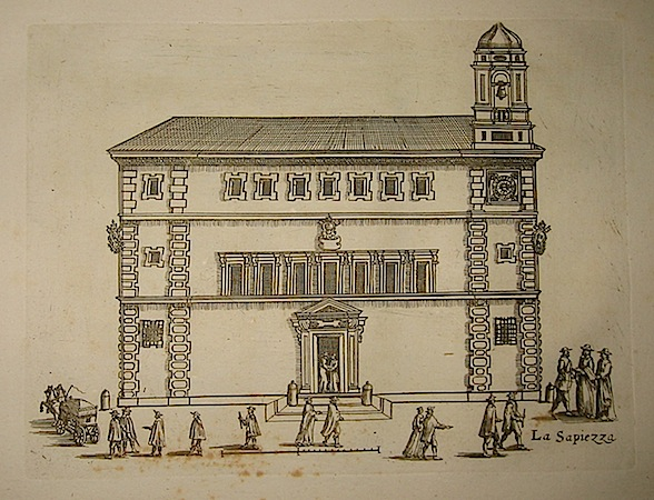 Anonimo La Sapiezza (Sapienza)  1773 Roma, presso Carlo Losi