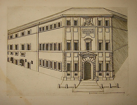 Anonimo Collegium Urbanum de Propaganda Fide 1773 Roma, presso Carlo Losi