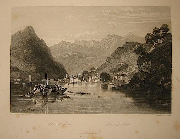 Fisher S. Lake of Como 1858 Parigi