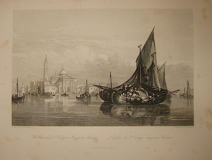 Adlard H. The Church of S. Giorgio Maggiore, Venice 1858 Parigi