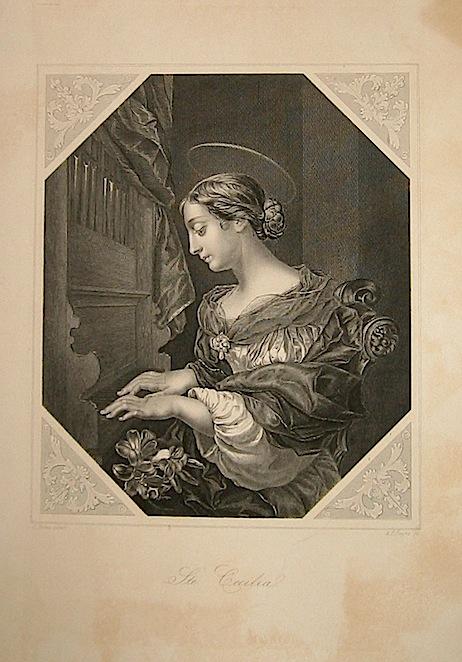 Payne A. H.  S.te Cecilia  1860 ca. Dresda
