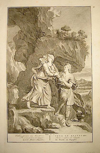 Anonimo Fuga in Egitto prima metà  del XVIII Secolo s.l.